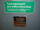 Tool and Emergency Box - Class 153